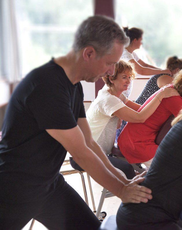 Opleiding Stoelmassage